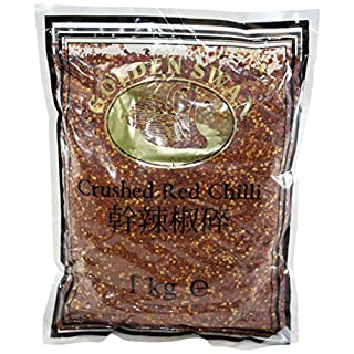 Golden Swan Crushed Red Chillies 1 Kg (Pack of 4)