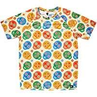 Camiseta de Calaveras Niño, Niña, Manga Corta, Running, Gimnasio #Skully Talla 10