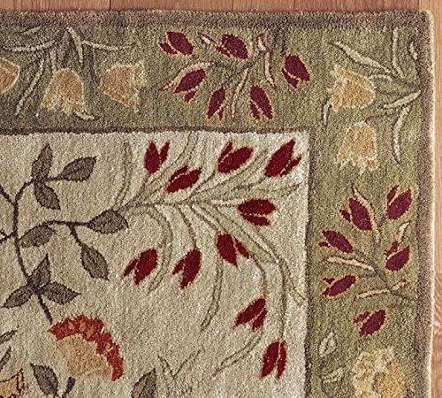 5x 8persa Floral alfombra de lana hecho a mano tradicional persa Oriental alfombra y alfombra