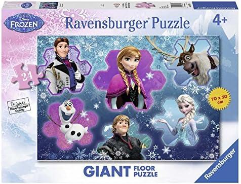 Ravensburger 2405437 - Puzzle - La La La Reine des Neiges - Le monde d'Anna - 24 Pièces | être Dans L'utilisation  00c469
