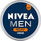 NIVEA Men Crème, Dark Spot Reduction, Non Greasy Moisturizer, Cream with UV Protect, 75 ml