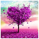 Style 3 : Demiawaking 5D DIY Diamond Love Tree Sticker Cross Stitch Painting Home Wall Decor Style 3