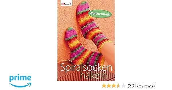 Spiralsocken Häkeln Amazonde Veronika Hug Bücher