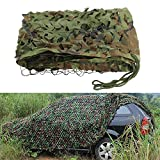 3m X 2m Camouflage Net Camo Netting Oxford Fabric Hunting Shooting Hide Army for Camping Hide