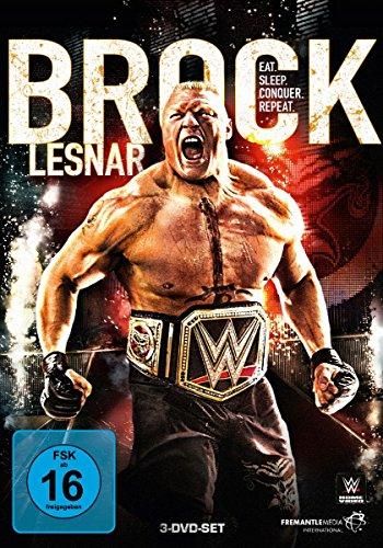 WWE - Brock Lesnar [3 DVDs] - Wwe Dvd-2012
