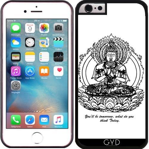 Custodia in silicone per Iphone 6/6S - Buddha Zen Religione Yoga by WonderfulDreamPicture