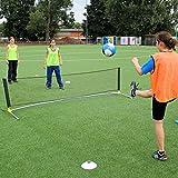 Fußballtennis-Set für Kunstrasen, Hartplatz und Halle, für Teamsportbedarf - Fußballtraining