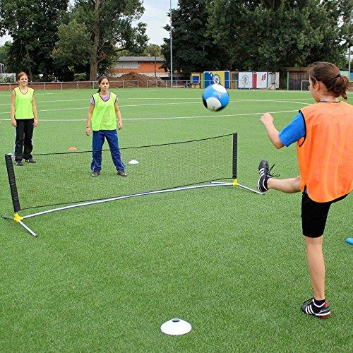 Fußballtennis-Set für Kunstrasen, Hartplatz und Halle, für Fußballtraining (Tennis-fußball-kinder)