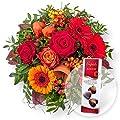 Morgenrot und Pralinen-Herzen von Valentins auf Du und dein Garten