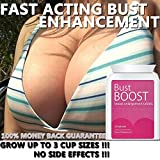 BUST BOOST PILLS FEHLSCHLAG BOOST Brustvergrößerung Pillen TABLETS MAX KRAFT SEXY MASSIVE BOOBS