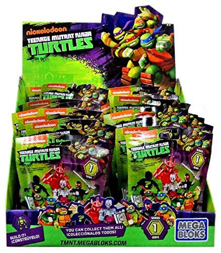 Tortugas Ninja - Sobre sorpresa Mega Bloks DMX21
