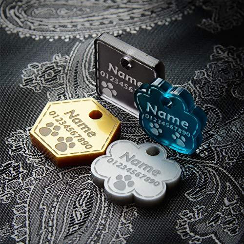 National Engraver Pendentifs pour Colliers de Chien...