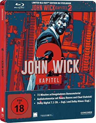 Extra Wick (John Wick: Kapitel 2 Steelbook [Blu-ray] [Limited Edition])