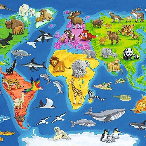 Ravensburger 06641 Weltkarte Mit Tieren At Shop Ireland