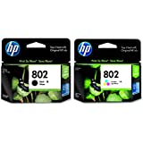 HP Combo 802 L Black   Colour Set of 2
