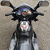 Kinder Motorrad Elektrofahrzeug Polizei Bike Kindermotorrad Elektromotorrad (Schwarz) - 3