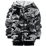 BEZLIT Jungen Camouflage Hoodie Pullover Kapuzenpullover 21611, Farbe:Grau, Größe:128