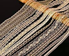 20 metres ASSORTED CREAM Vintage Lace Bridal Wedding Trim Ribbon CRAFT by Crystals & Gems Uk