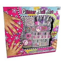 Gloss Glitter Nail Art Set...