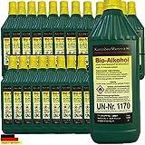 Haute performance bio éthanol Bio alcool pour cheminées à l'éthanol -Volume 5,12,24 liter (24 Litre)...