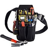 Copechilla porta utensili da lavoro cintura 15 tasche,professionale e compatto,Materiale doppio strato impermeabile ispessime
