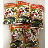 Tao Kae Noi japonesa crujiente de algas marinas, Tomyum Goong (0,7 X 5 paquetes)