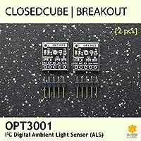 closedcube opt3001Digital Ambient Light Sensor Breakout Board (2Pcs)