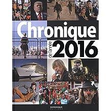Chronique de l'année 2016