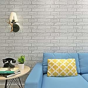Hanmero carta da parati adesiva muro 2m for Carta muro lavabile adesiva