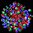 PMS� 100 LED Multi-color Solar Fairy Strip Light Waterproof Garden Outdoor Christmas Lights, Ideal for Trees, Gardens, Festive Parties & More, 10M Super Bright