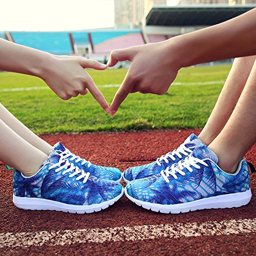 Fashion Sporting Schuhe für Männer / Frauen Frühling und Sommer Casual Flat Sneaker zum Laufen / Radfahren / Walking Leicht und Breathable green fluorescent orange