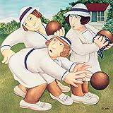 Beryl Cook biglietti di auguri bowling