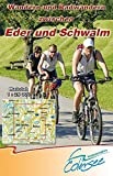 Wandern und Radwandern zwischen Eder und Schwalm: Rad- und Wanderkarte