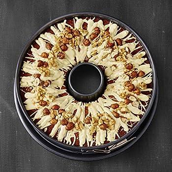 Birkmann Premium Baking Springform mit einem Boden Spring Form Anithaft 28 cm