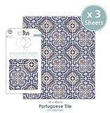 Craft Consortium Premium Decoupage Papier–Portugiesisch Tile