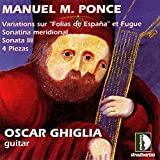 Ponce: Oeuvres pour guitare