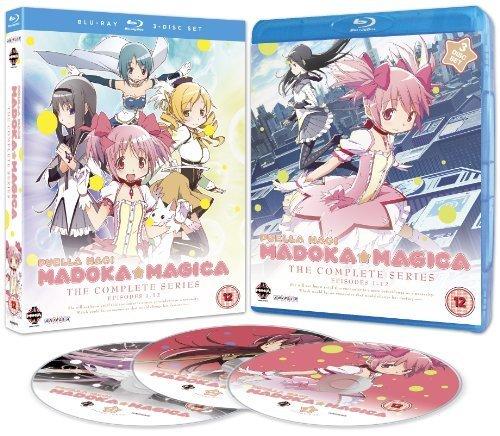 Puella Magi Madoka Magica - Complete Series - 3-Disc Set ( Maho Shojo Madoka Magica ) ( Madoka Magica ) [ Origine UK, Sans Langue Francaise ] (Blu-Ray)