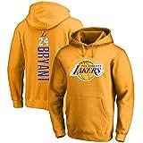 JNTM Hommes Sweat /à Capuche Kobe Bryant 24# Fans Chemises Confortable Maillots Hoodie Brod/és XS-4XL