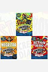 Fincredible Diary of Fin Spencer series 3 Books Bundle Collection - Megastar, Action Hero Paperback