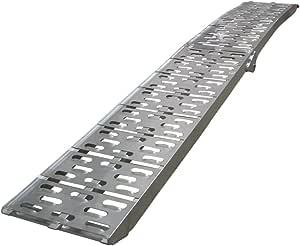 Grafner Klappbare Aluminium Auffahrrampe 340 Kg 226cm X 29 5cm Auffahrschiene Motorradrampe Anhängerrampe Rampe Verladerampe Faltbar Baumarkt