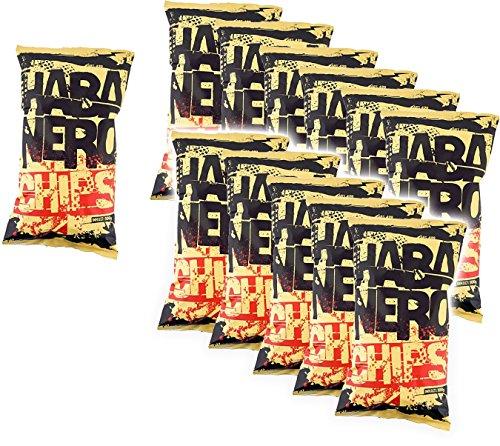 Habanero Chips (Schärfegrad 8 !) - 12er Pack (12 x 100 g)