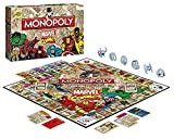 Winning Moves 44338 - Monopoly: Marvel Comic Retro Spiel [Edizione: Germania]