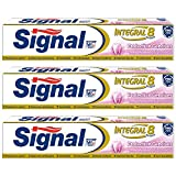 Signal dentifrice integral 8 protection gencives 75 ml - Lot de 3