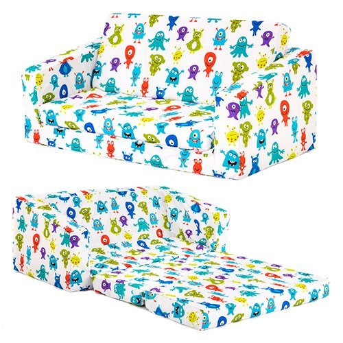 monsters-childrens-lily-foam-fold-out-sofa-bed-lounger