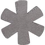 Protège poêles et séparateur de casseroles Cherafone - Lot de 5 - Parfaits pour éviter les rayures sur des poêles anti-adhésives, ainsi que sur des poêlons en acier inoxydable, en fonte ou en grès