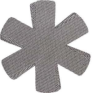 chefarone pfannenschutz mit antirutsch 5er set stapelschutz 38 cm pfannenschutzeinlagen. Black Bedroom Furniture Sets. Home Design Ideas