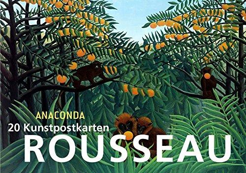 Postkartenbuch Henri Rousseau