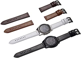Voberry Sports Leather Watch Replacet Bracelet Strap Band for Samsung Gear S3 Frontier/Classic