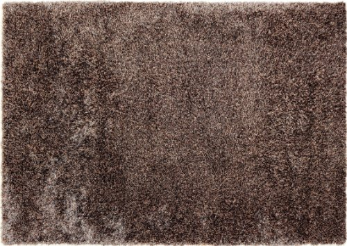 Barbara Becker Teppich Emotion taupe 70 x 140 cm braun -
