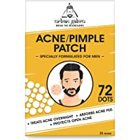 Urbangabru Acne Pimple Patch - 72 Invisible Facial Stickers cover with 100% Hydrocolloid, Pimple / Acne Absorbing patch…